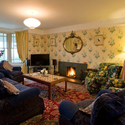 Winter sitting room